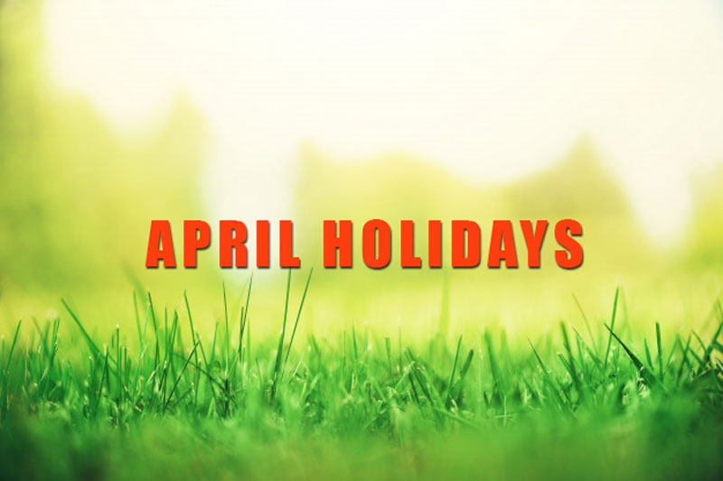 APRIL-HOLIDAYS